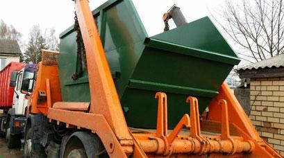 Вывоз мусора контейнерами разного объема