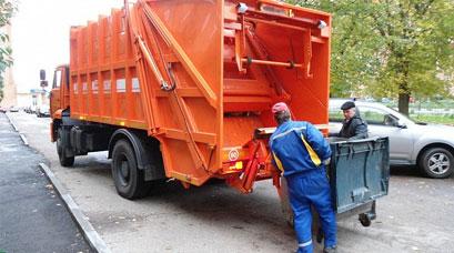 Утилизация мусора специализированной службой